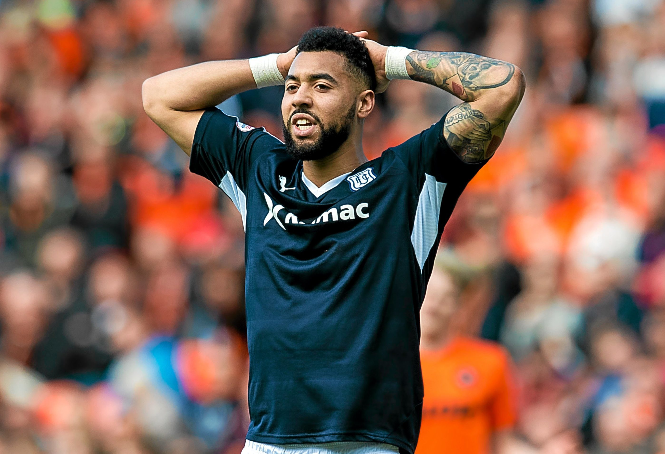 Kane Hemmings is a doubt for the last game of the season.