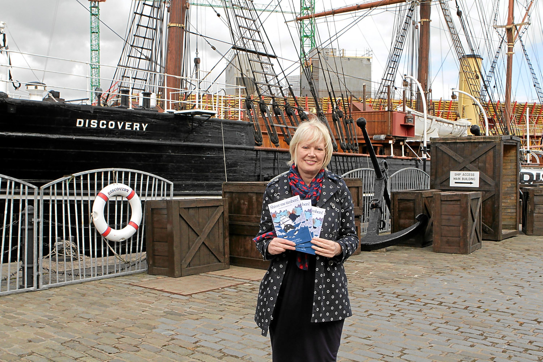 Gordon Robbie Evening Telegraph  Jill Sim and her book
