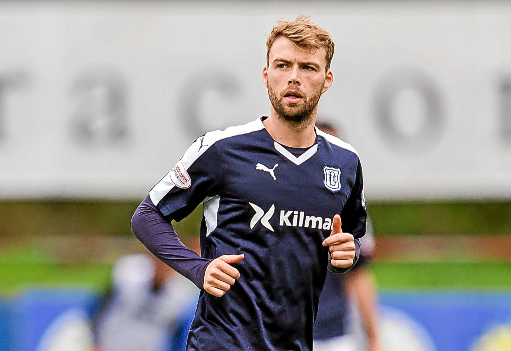 Dundee striker Rory Loy