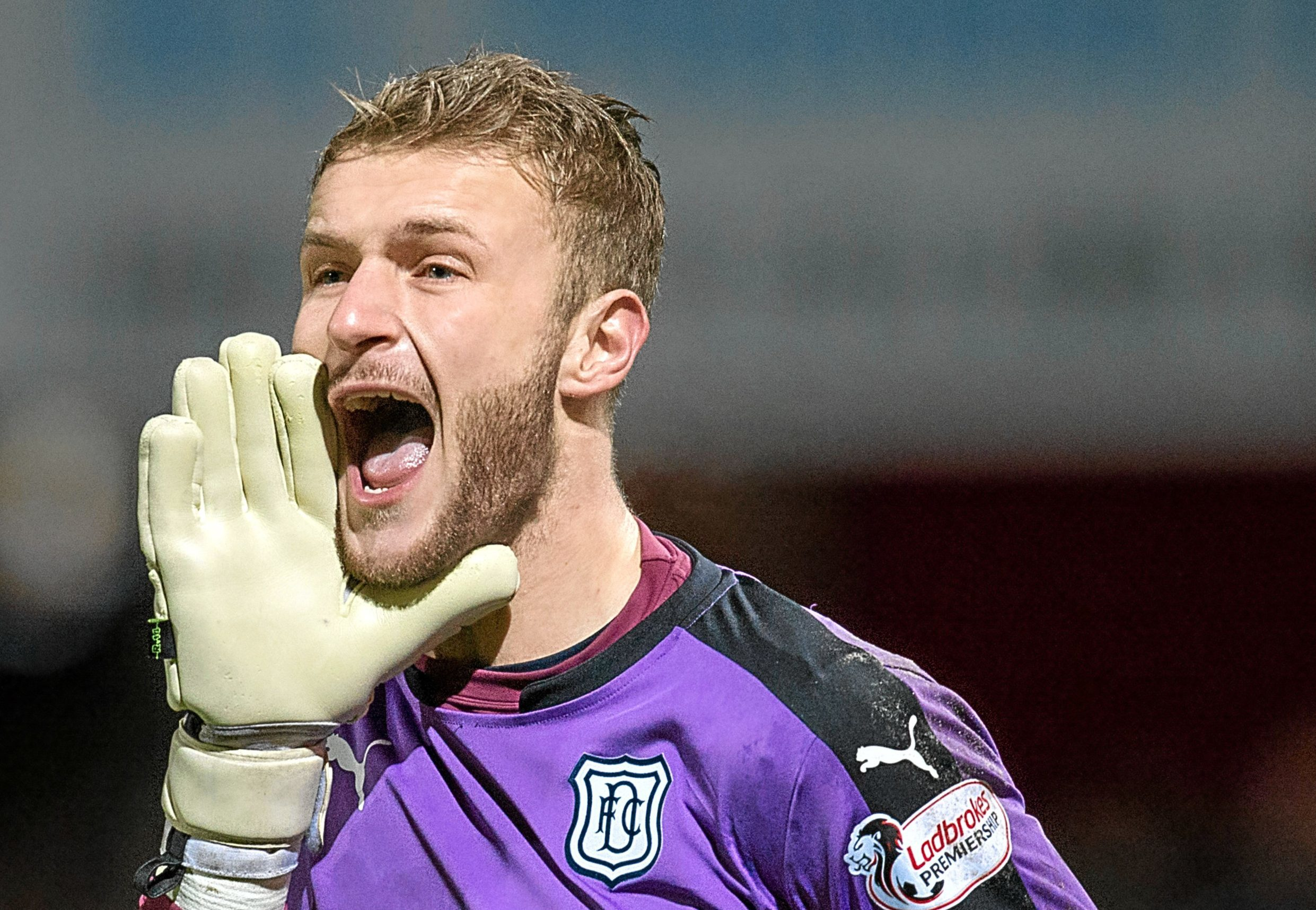 Dundee shot-stopper Scott Bain will be shouting for Hibs in the Scottish Cup Final against Rangers.