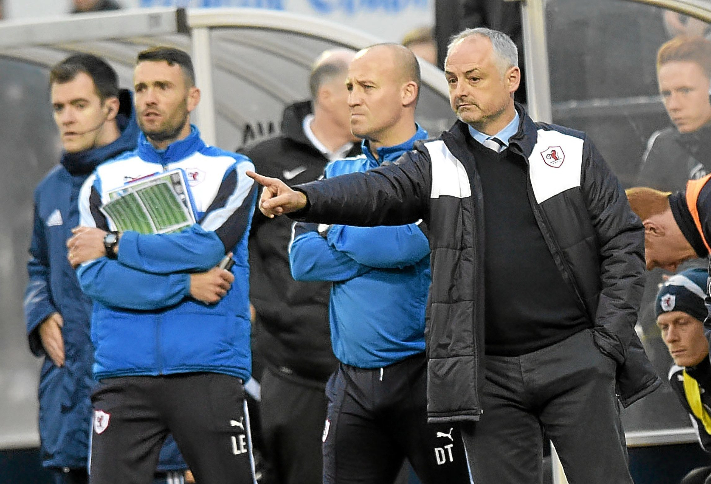 Manager Ray McKinnon took his shock troops Raith Rovers to fourth place in the Championship and a place in the play-offs for promotion to the Premiership, where they narrowly lost out to Hibs.