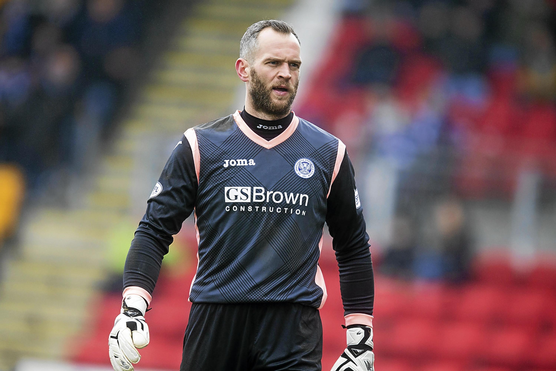 St Johnstone and Northern Ireland goalkeeper Alan Mannus