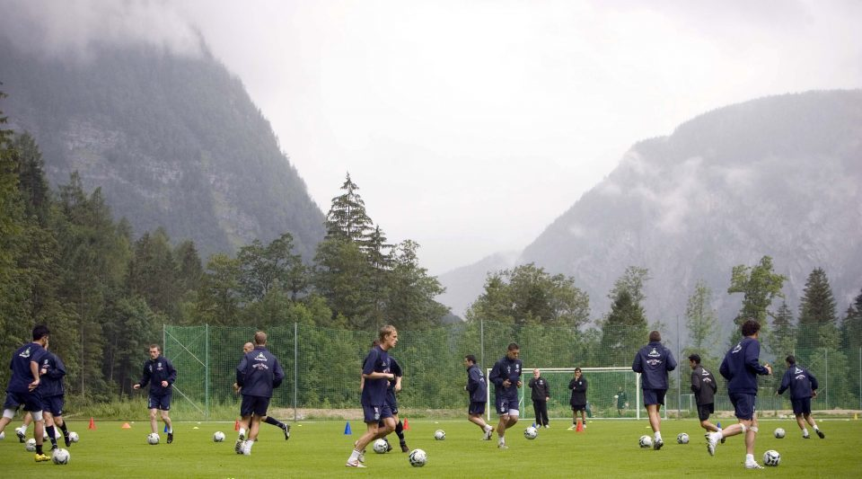 Hibs travelled to Obertraun for pre-season in 2007.