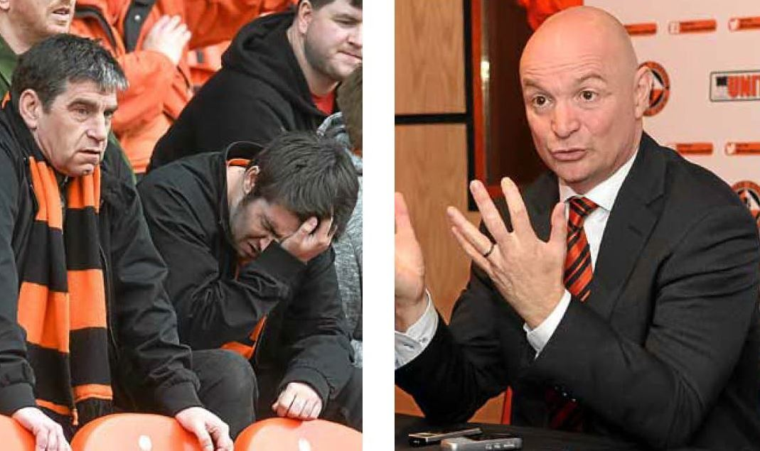 Communication between Stephen Thompson, the rest of the board and fans is key to keeping the Tangerines united.