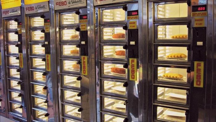 vending food