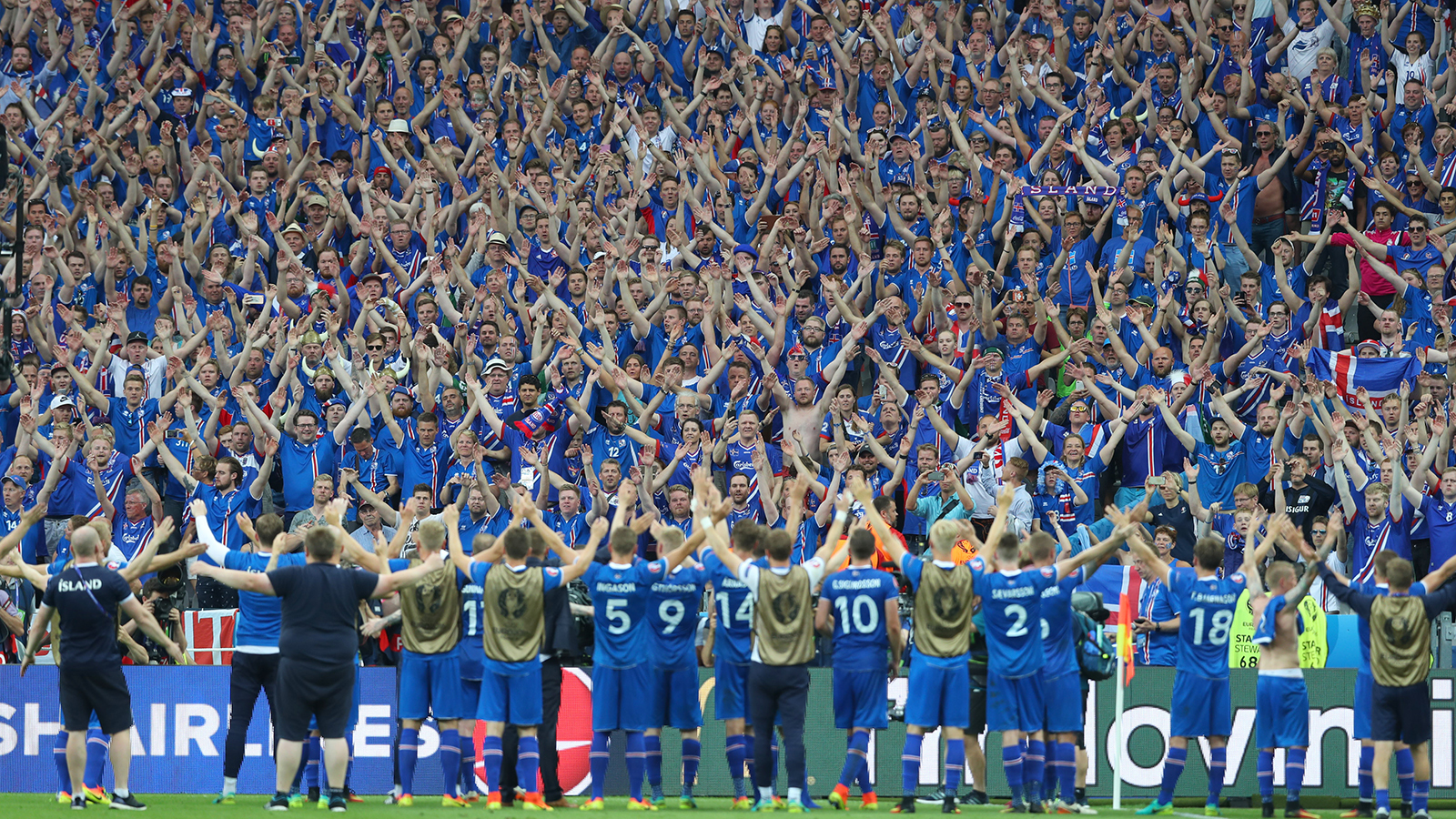 A new cult hero is born after Iceland clinch place in last 16.