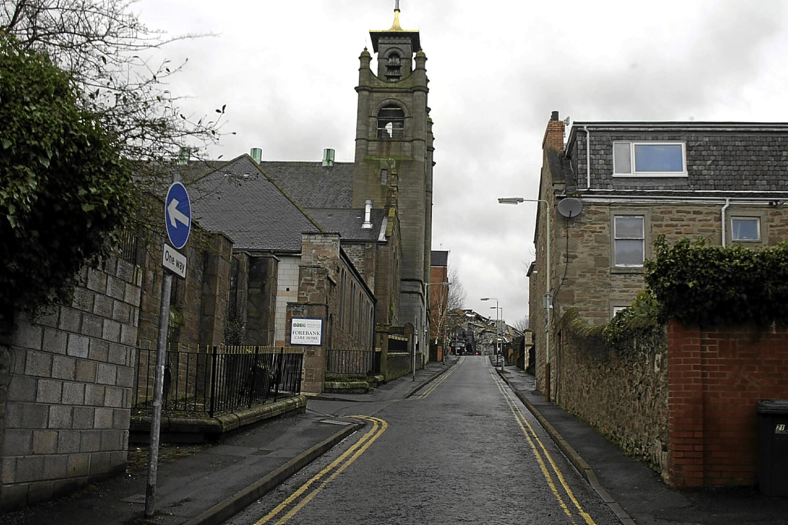 Forebank Road in Dundee