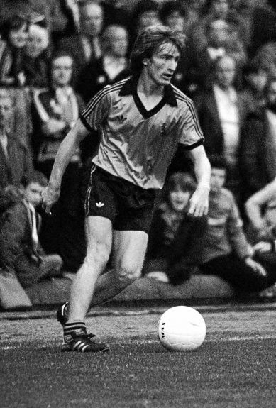 Dundee United's Graeme Payne in 1979.