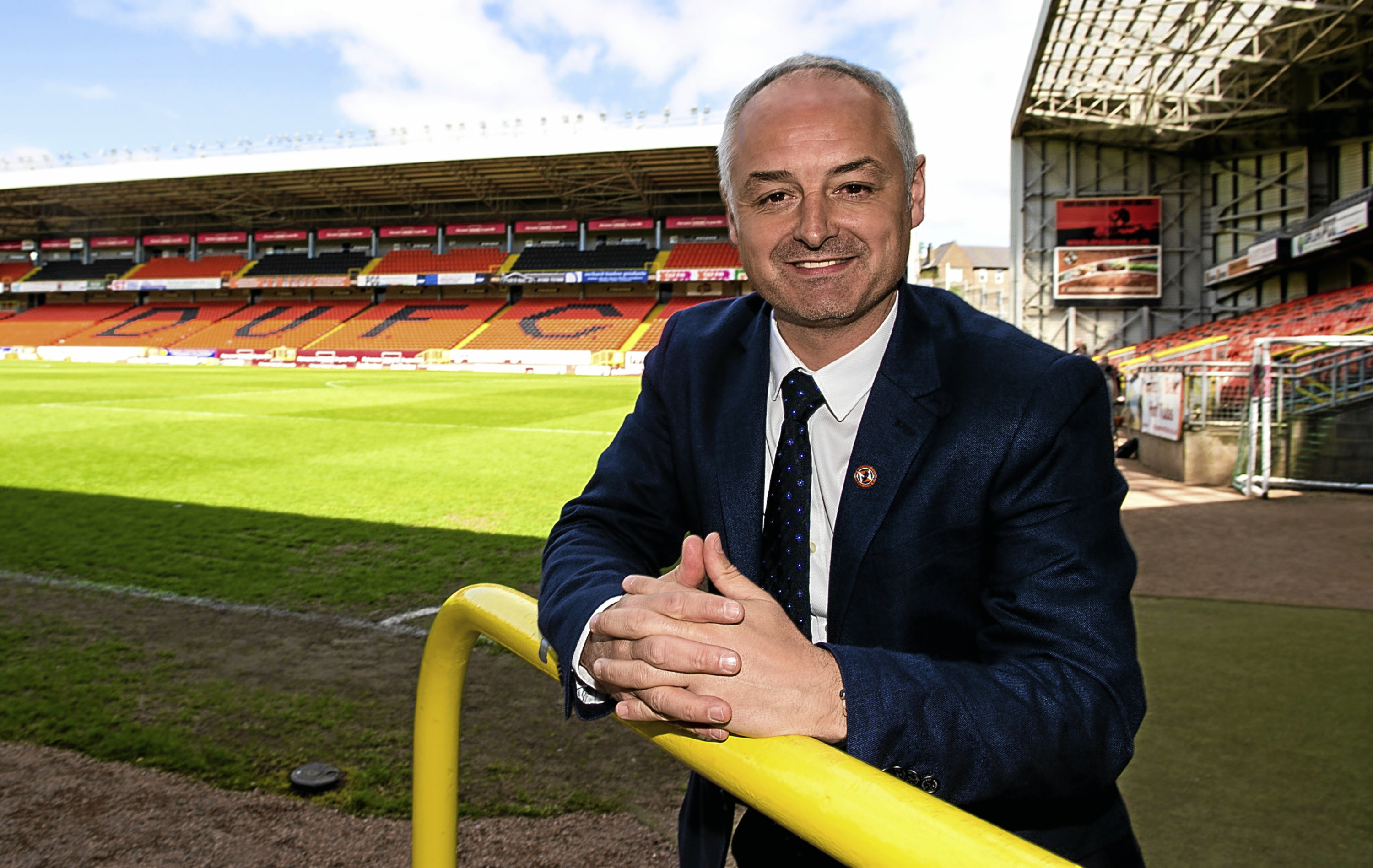 New Dundee United manager Ray McKinnon.