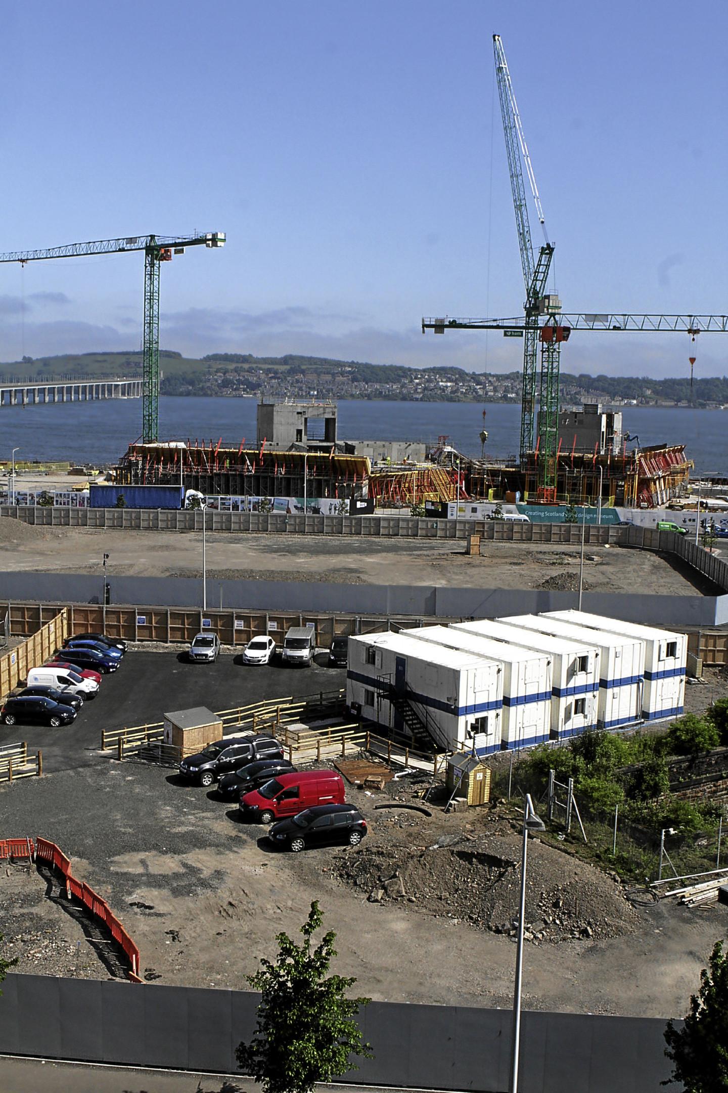 The Waterfront development