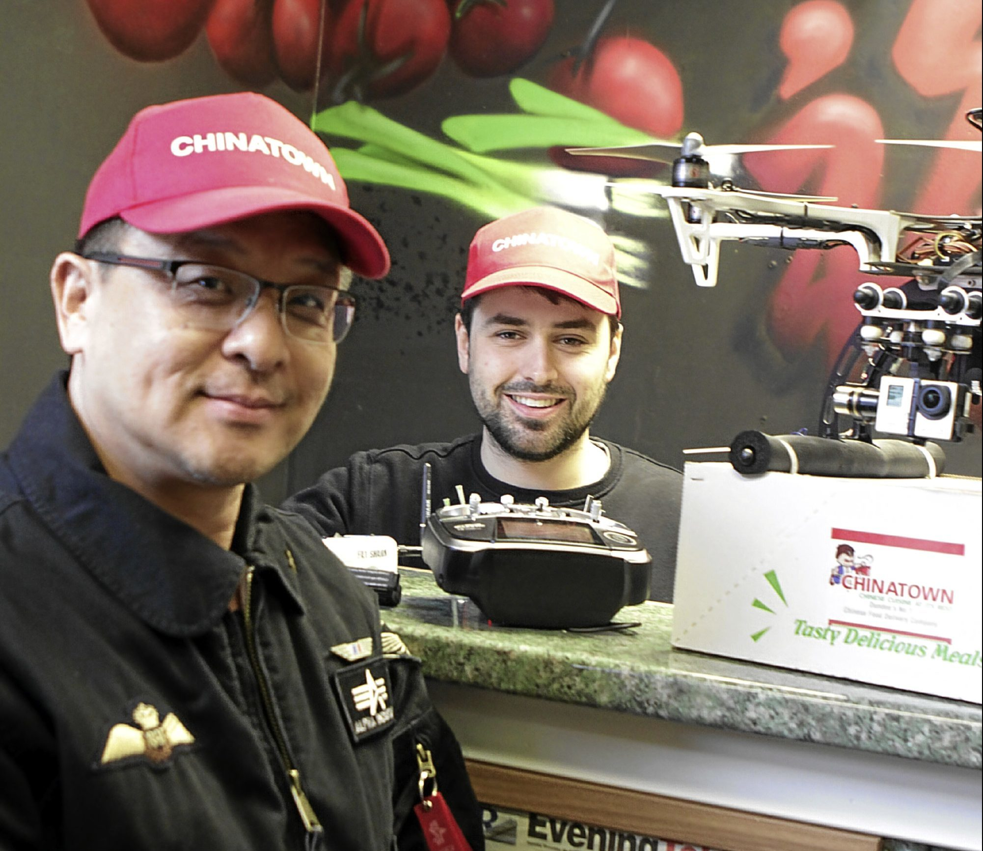 Steve Chow and Gregor James  of Chinatown takeaway