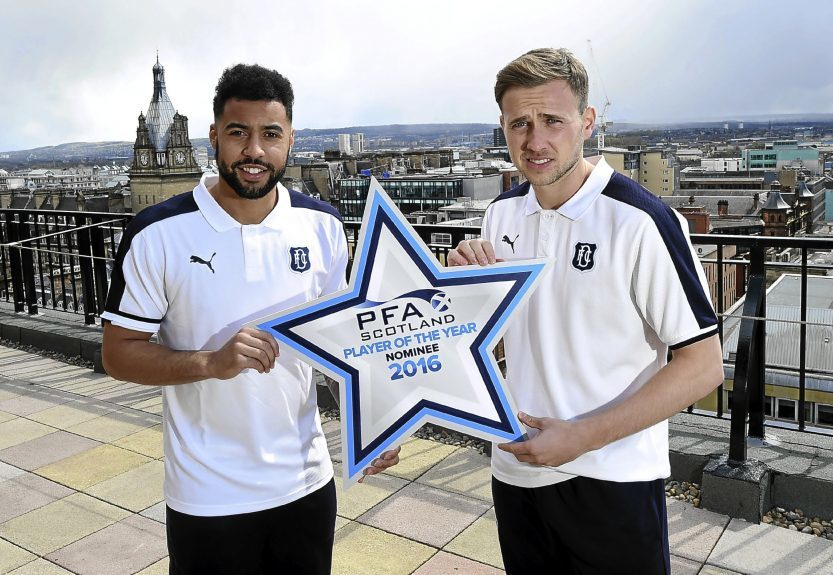 Kane Hemmings, along with teammate Greg Stewart were up for the Player of the Year Award last season.