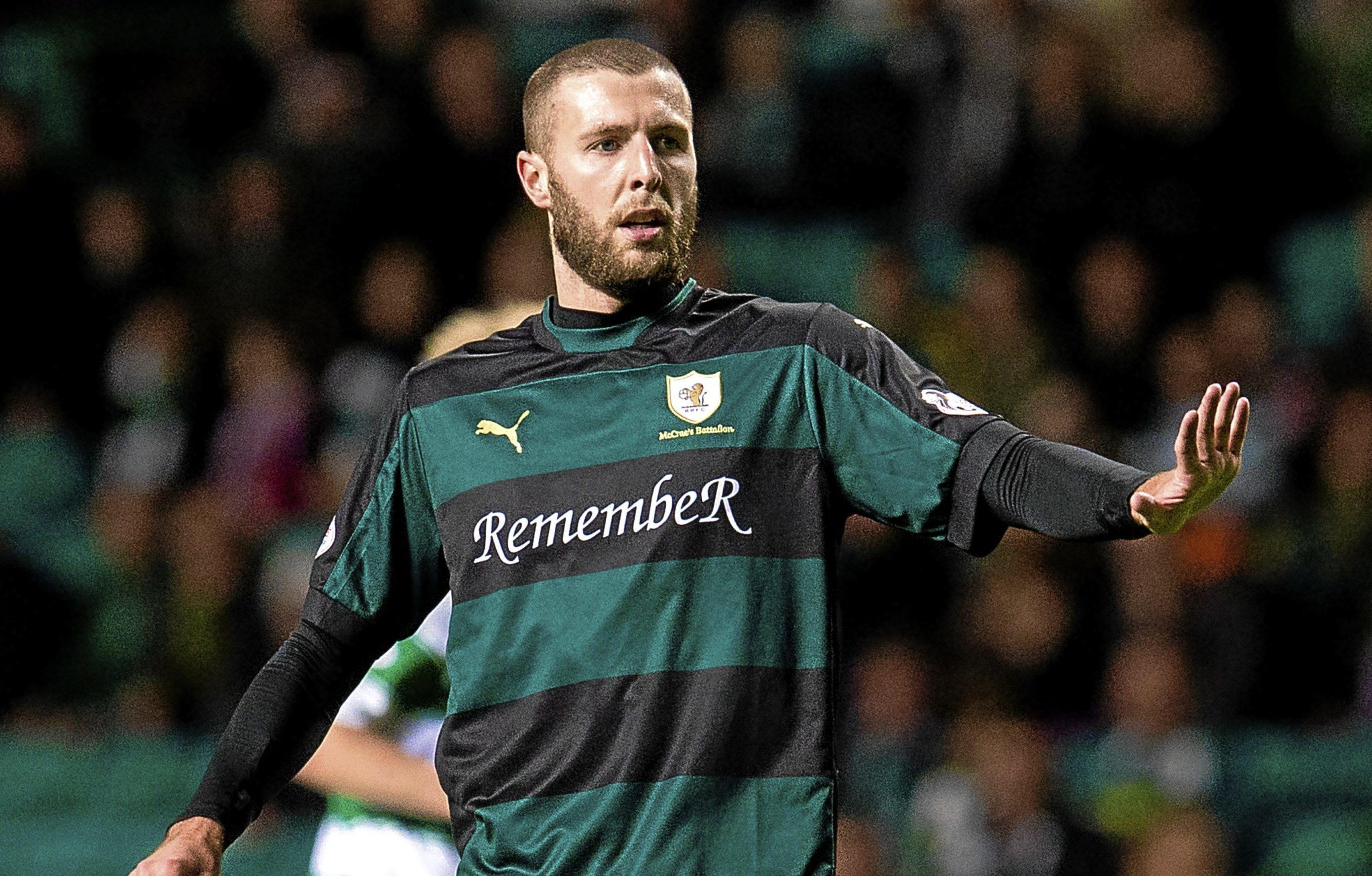 Dundee United target Lewis Toshney.