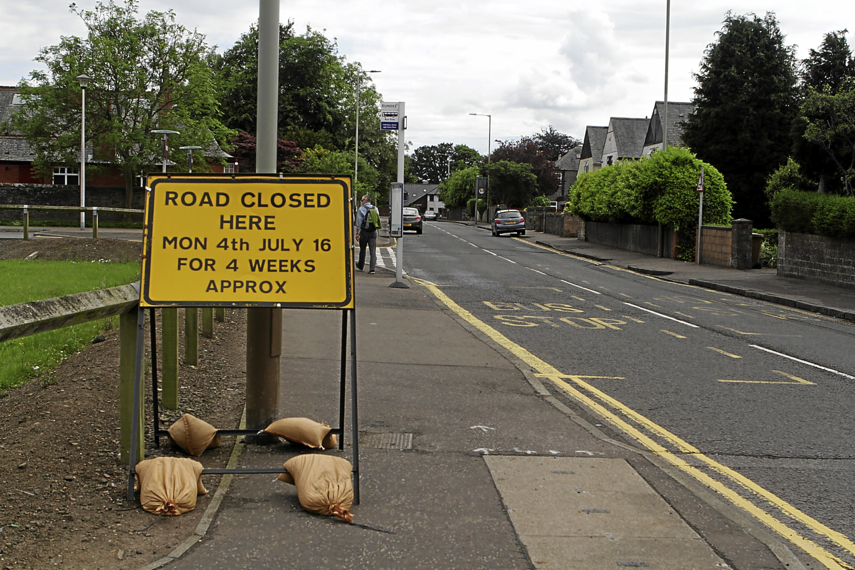 Forthill Road is to be closed for roadworks