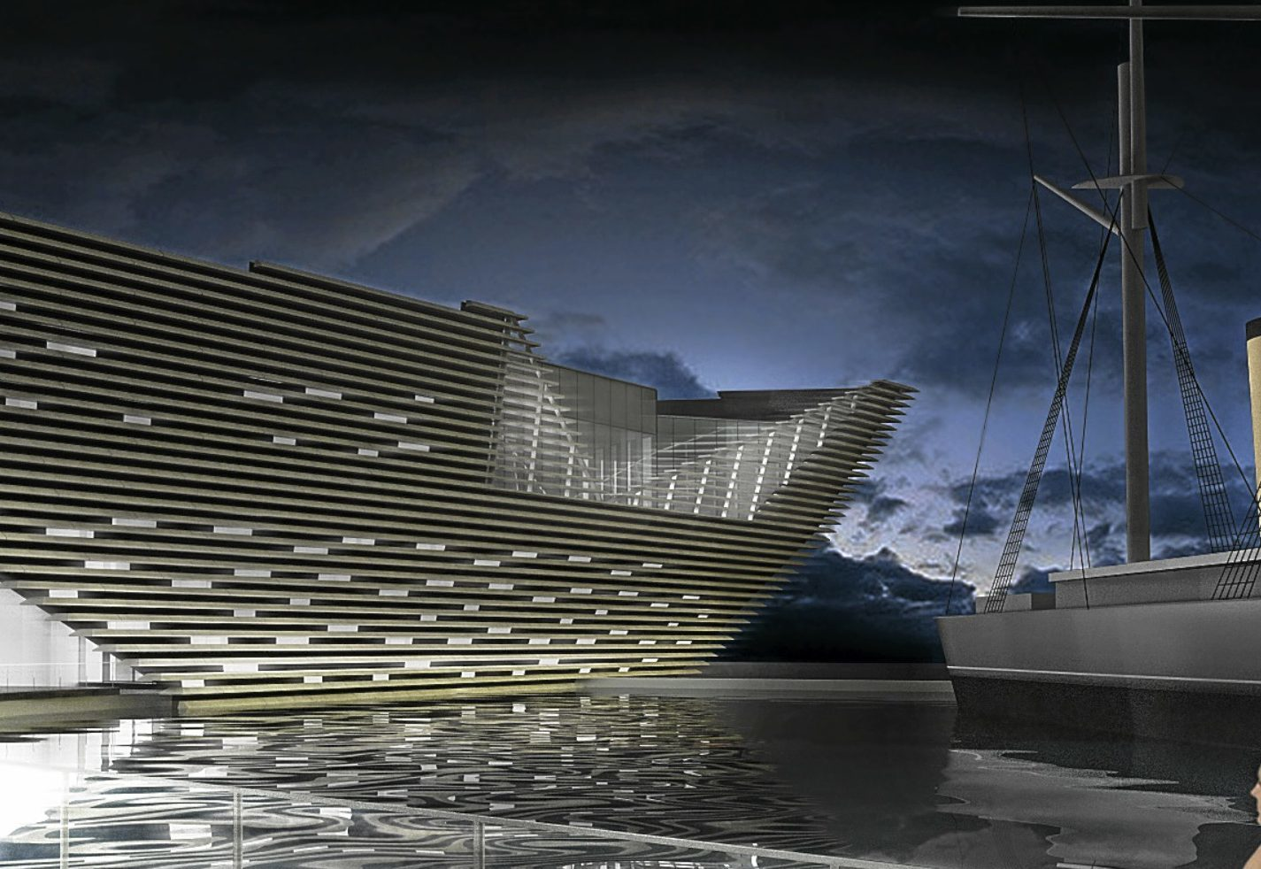 The eatery will have views across the Tay