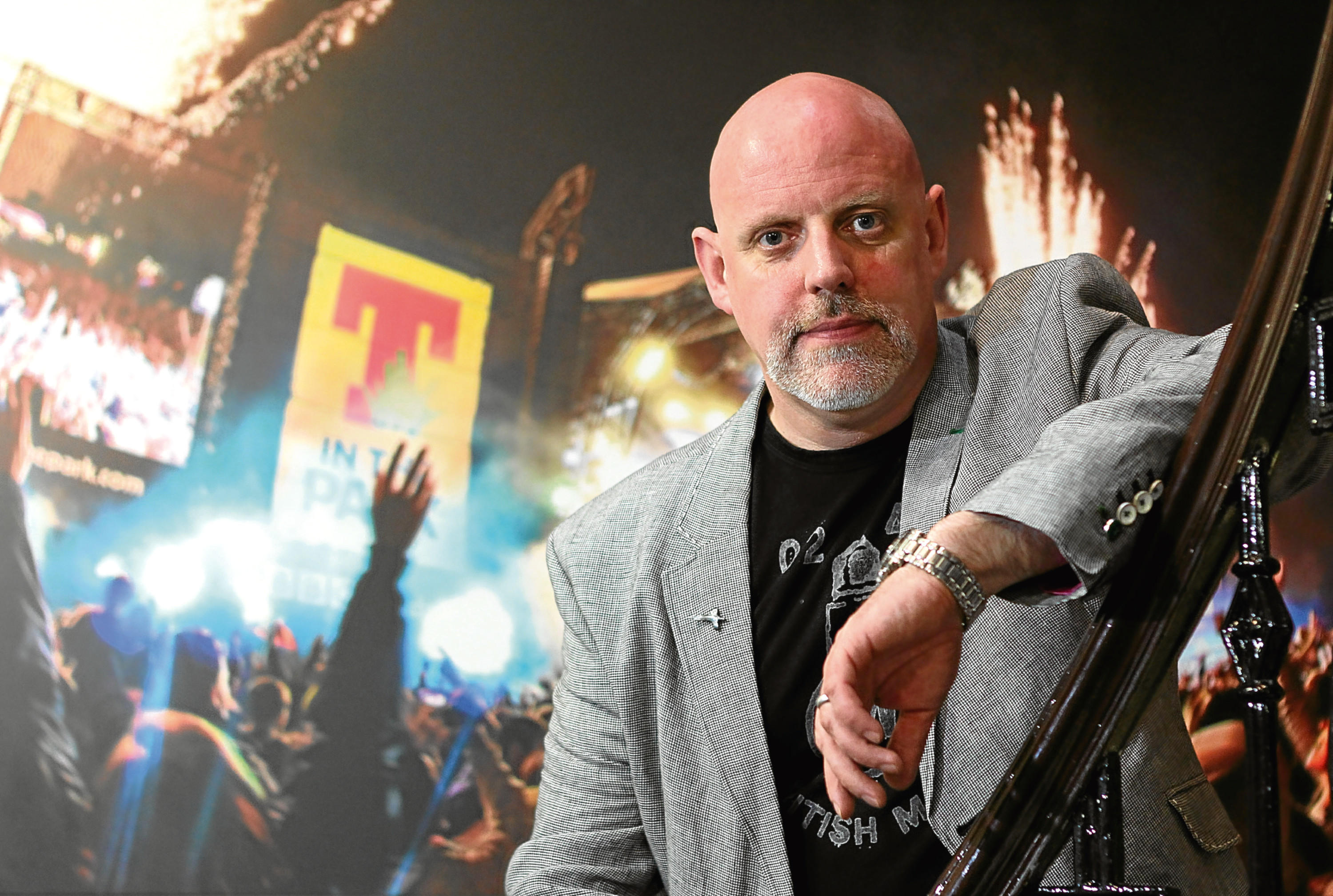 T in the Park boss and founder, Geoff Ellis