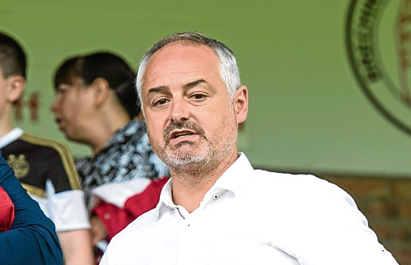 Dundee United manager Ray McKinnon recently took in Brechin City's friendly with Aberdeen.