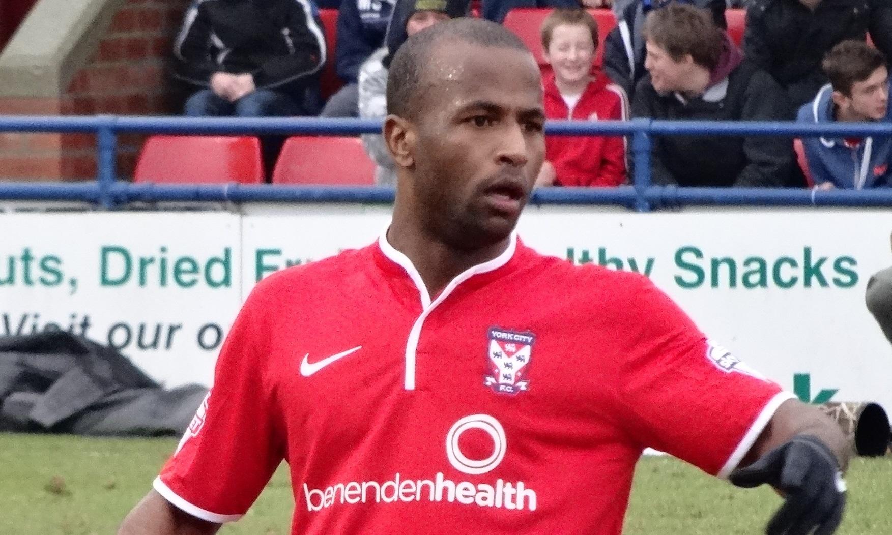 Stephane Zubar in action for York