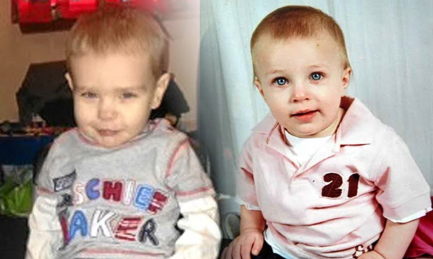 Fife child Liam Fee (left) and Dundee toddler Brandon Muir, who was killed by his mother's boyfriend in 2008.