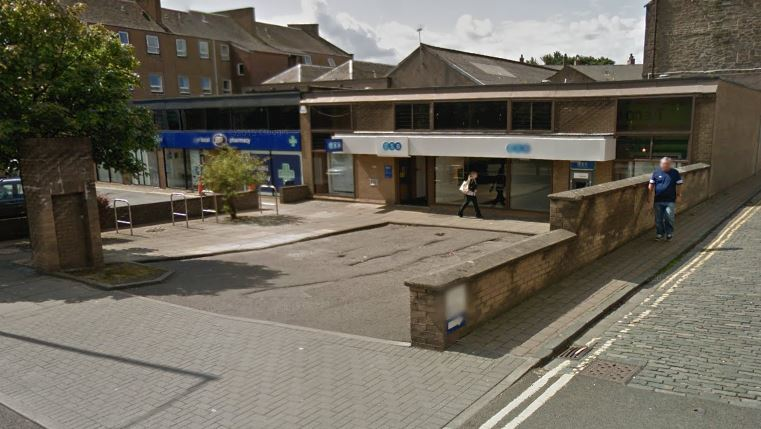 The TSB branch on Albert Street is to close.
