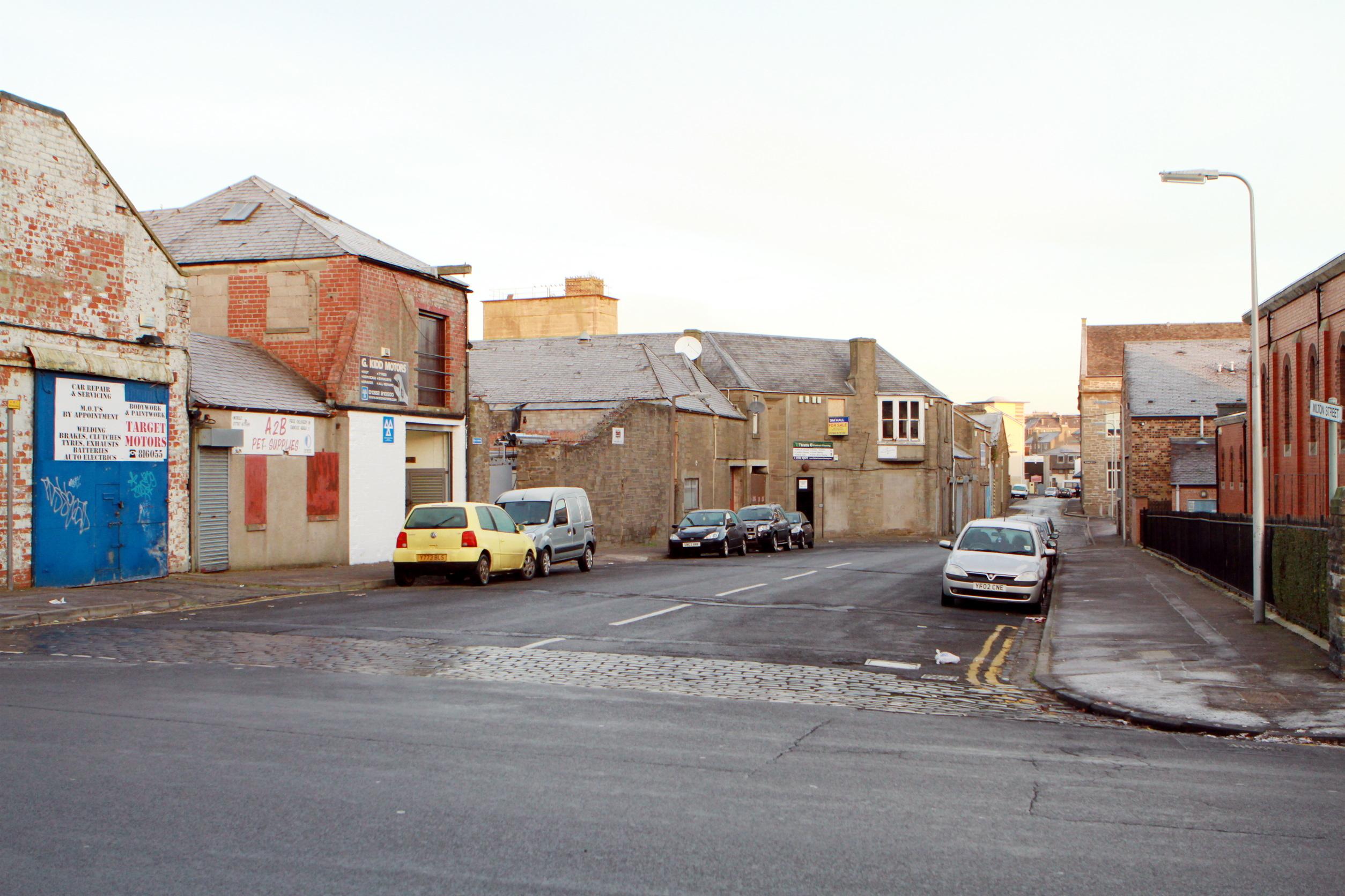 Milton Street (stock image)