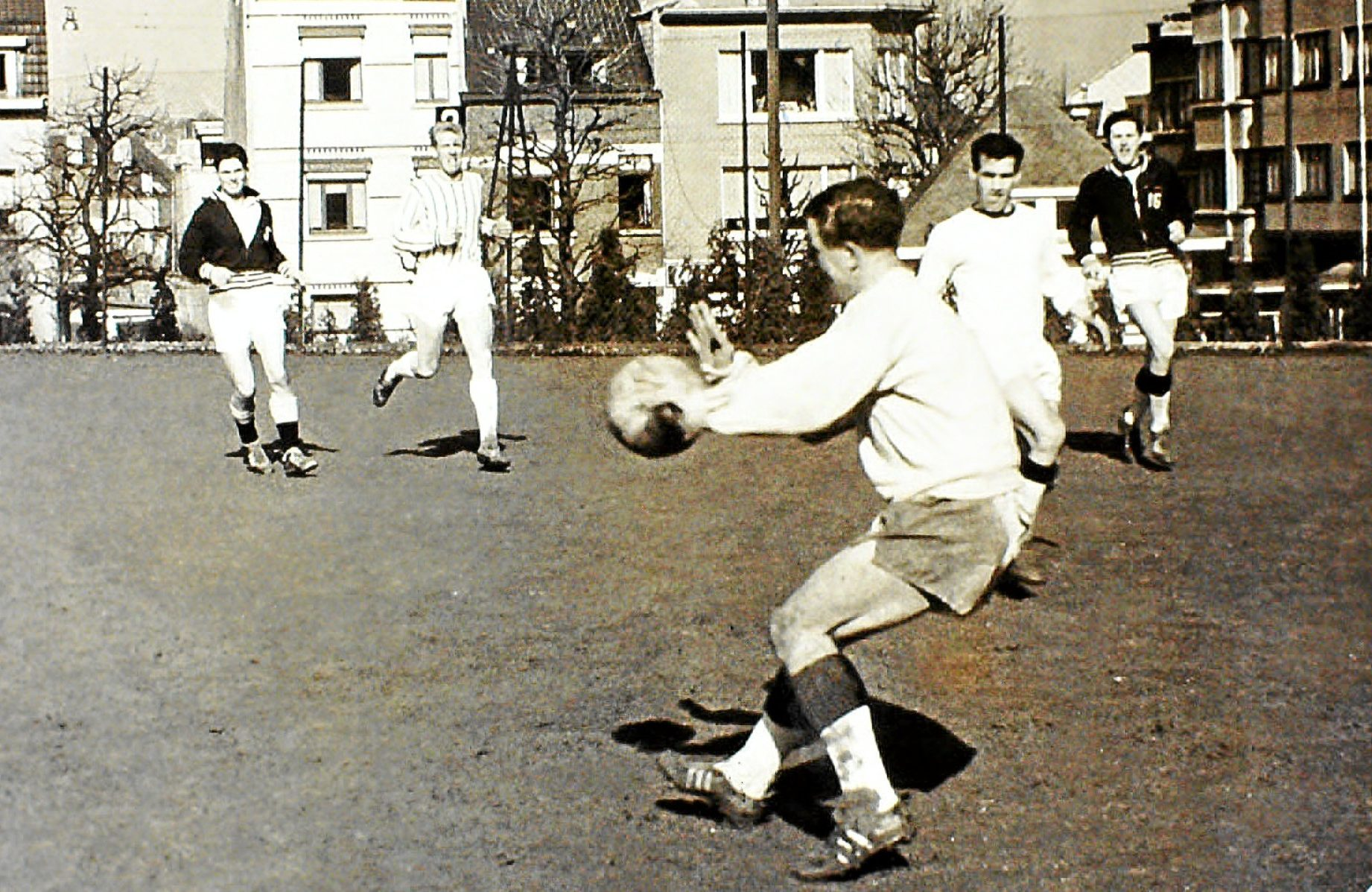 A photo relating to Dundee FC's European Cup run in season 1963-64.