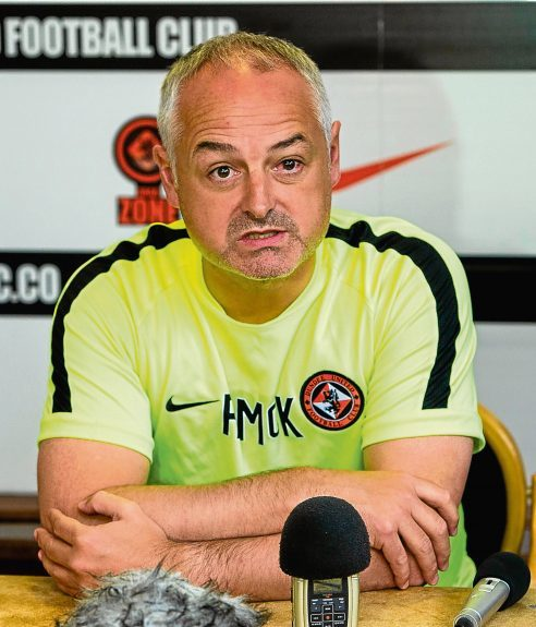 Dundee United boss Ray McKinnon is ready for the new season.