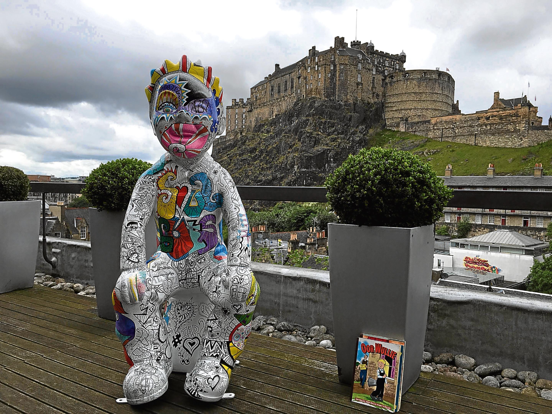 Oor Rugby will stay at Edinburgh Waverley until August 27