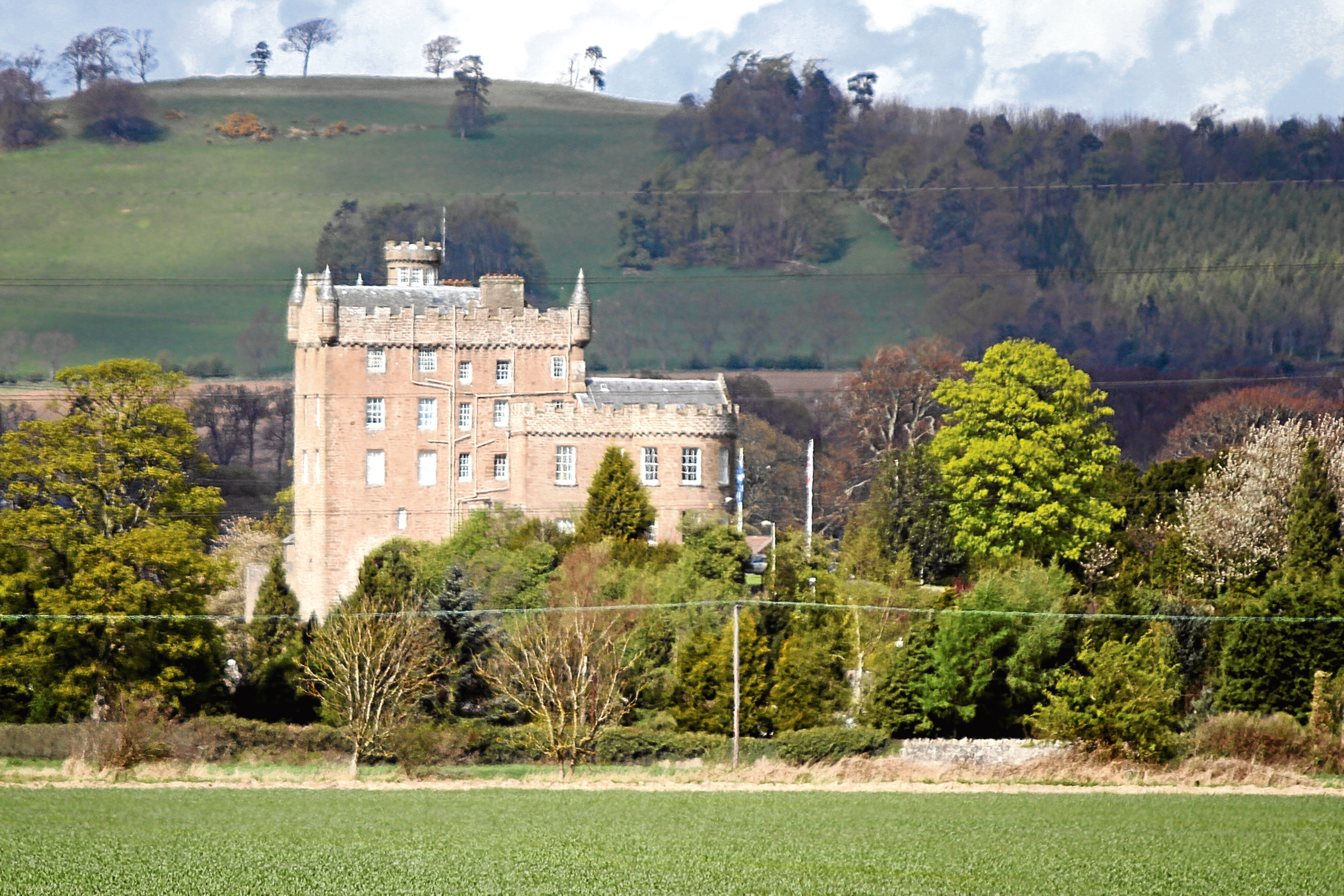 Kris Miller, Courier, 16/04/12. Picture today shows HMP Castle Huntly for file.