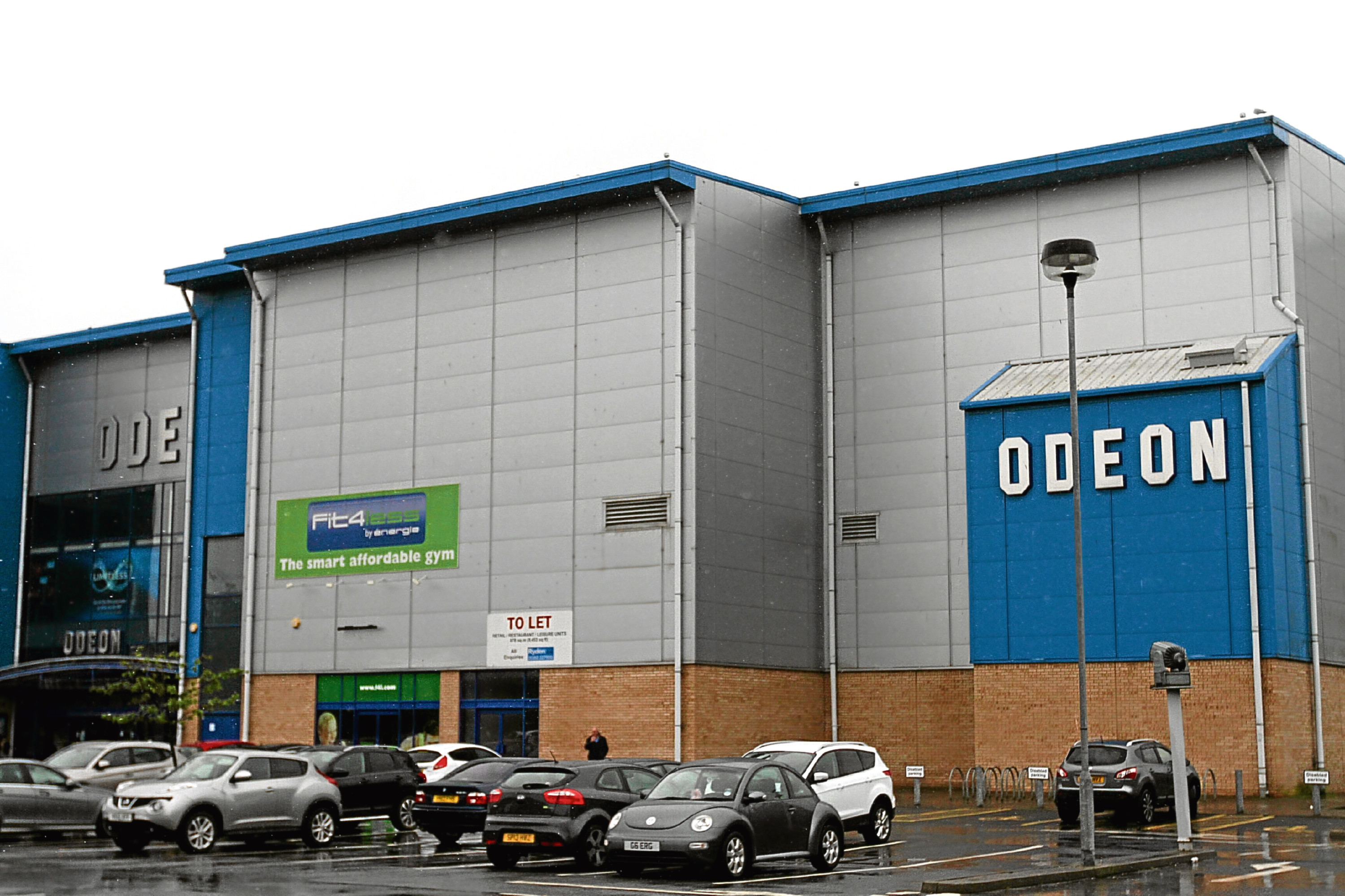 The Odeon cinema in Douglas