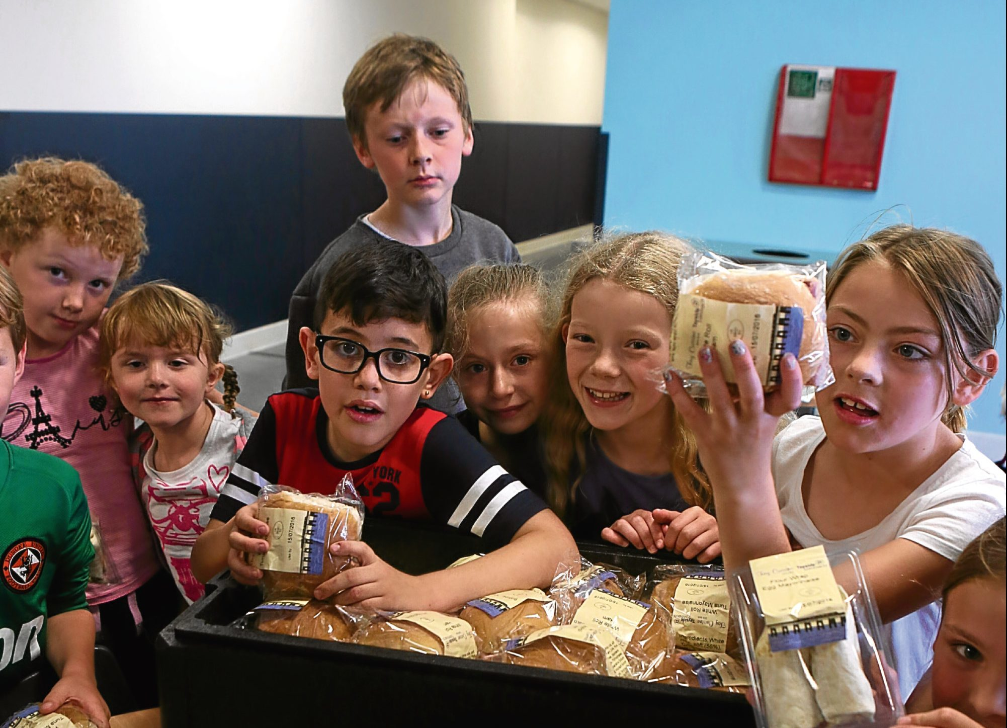 Kids at Grove Swim and Sports Centre are among those to benefit from the Fun and Food program.