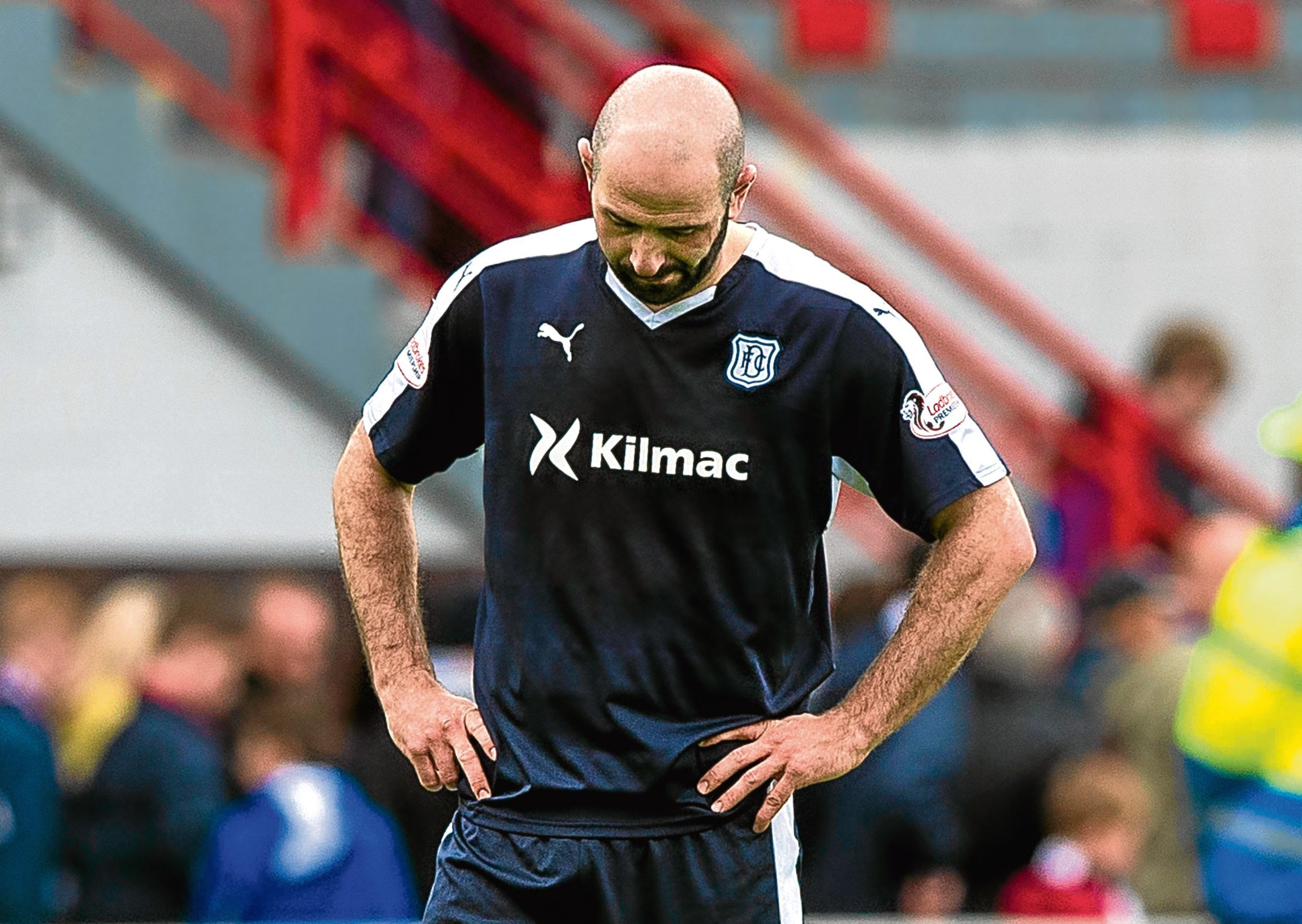 Fans' favourite Gary Harkins is free to leave Dens Park.
