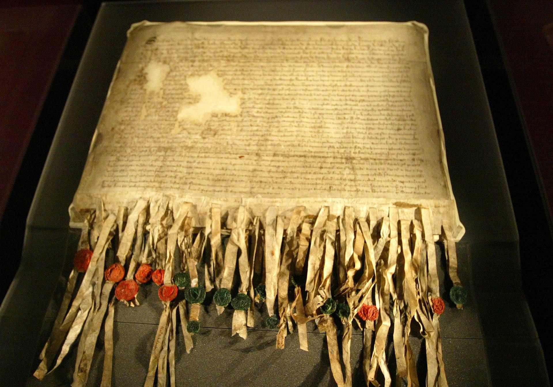 The 700-year-old Declaration of Arbroath