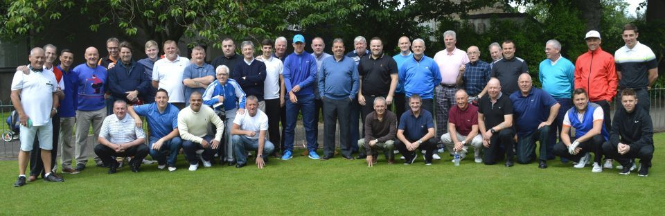 In total 46 golfers took part in the inaugural golf tournament. Picture by Murray Allan