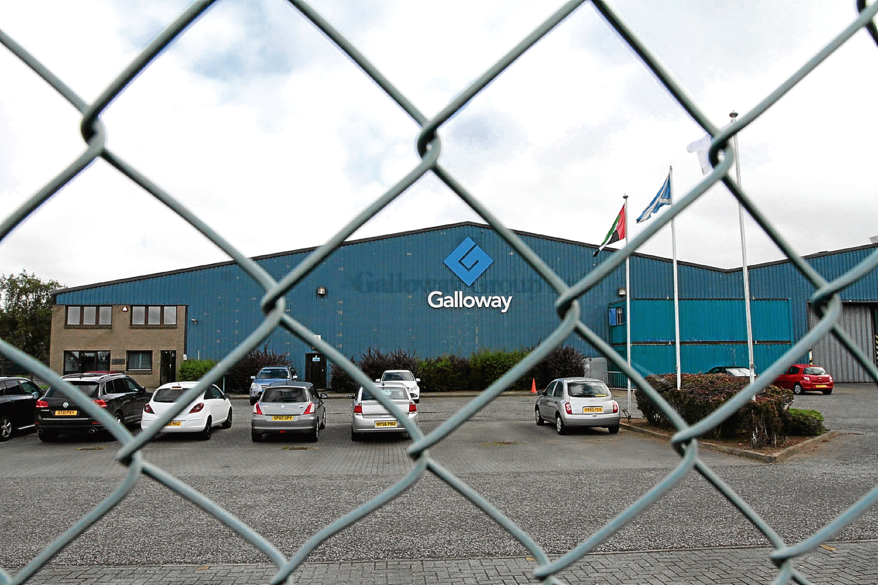 The Galloway Group is based in Dundee's Wester Gourdie industrial estate.