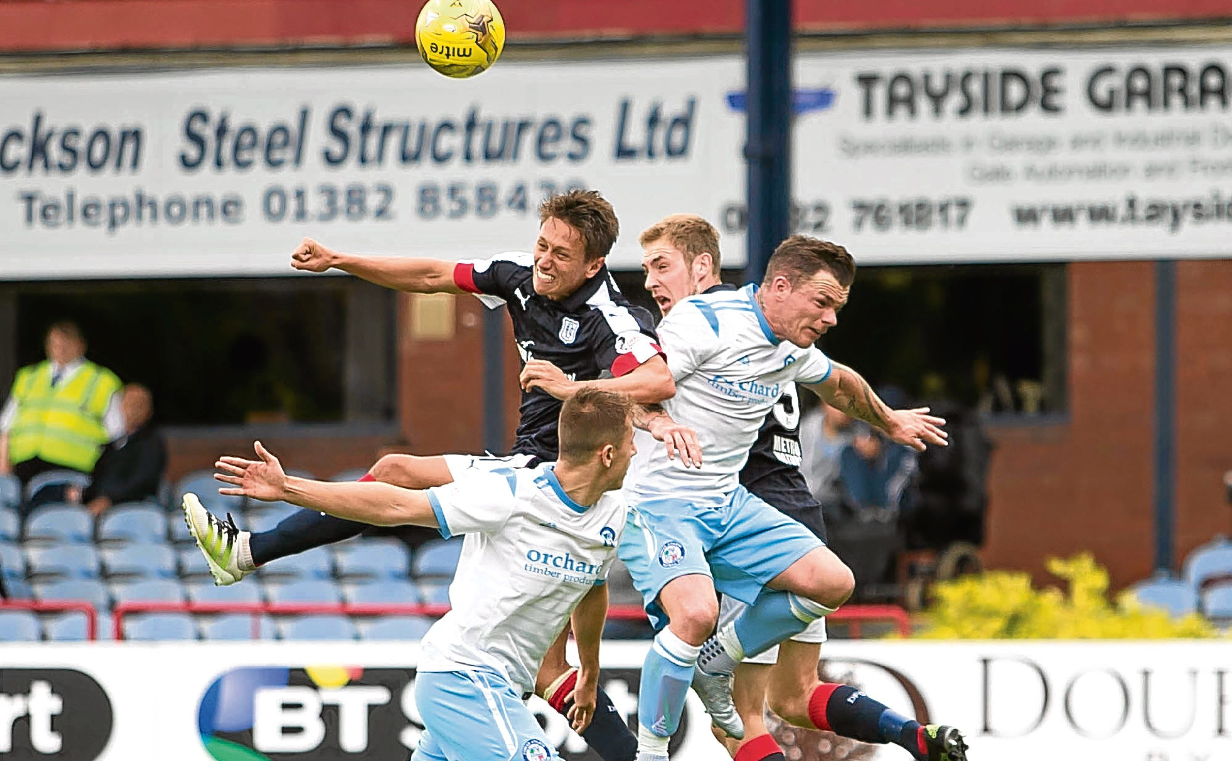 Dundee kick off the new season with a home cup clash against Forfar Athletic.