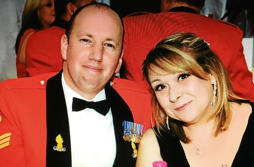 Pete and Kirsty Cluff