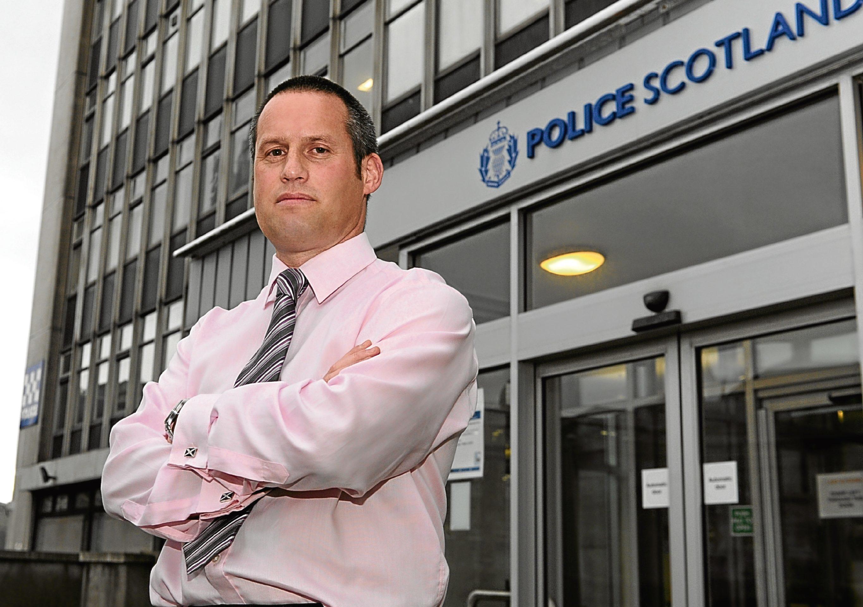 Detective Inspector Iain McPhail