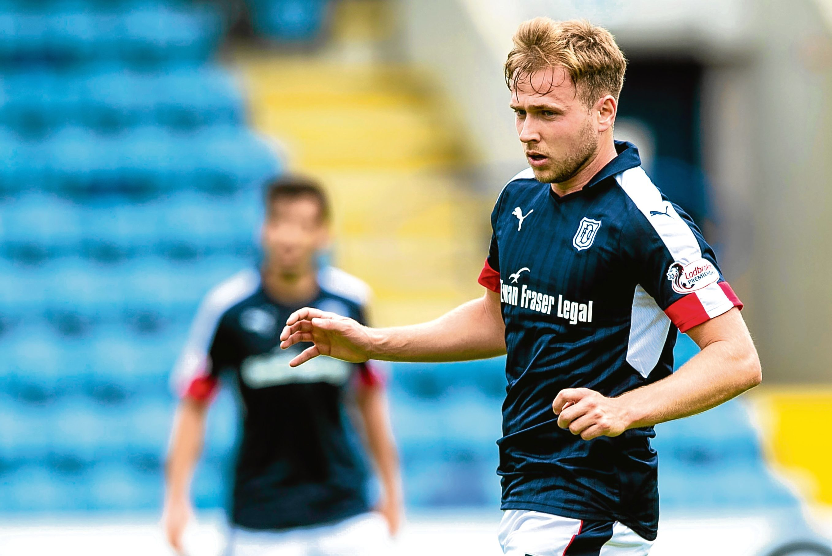 Dundee are holding out for a considerable sum for star forward Greg Stewart amid interest from clubs down south.