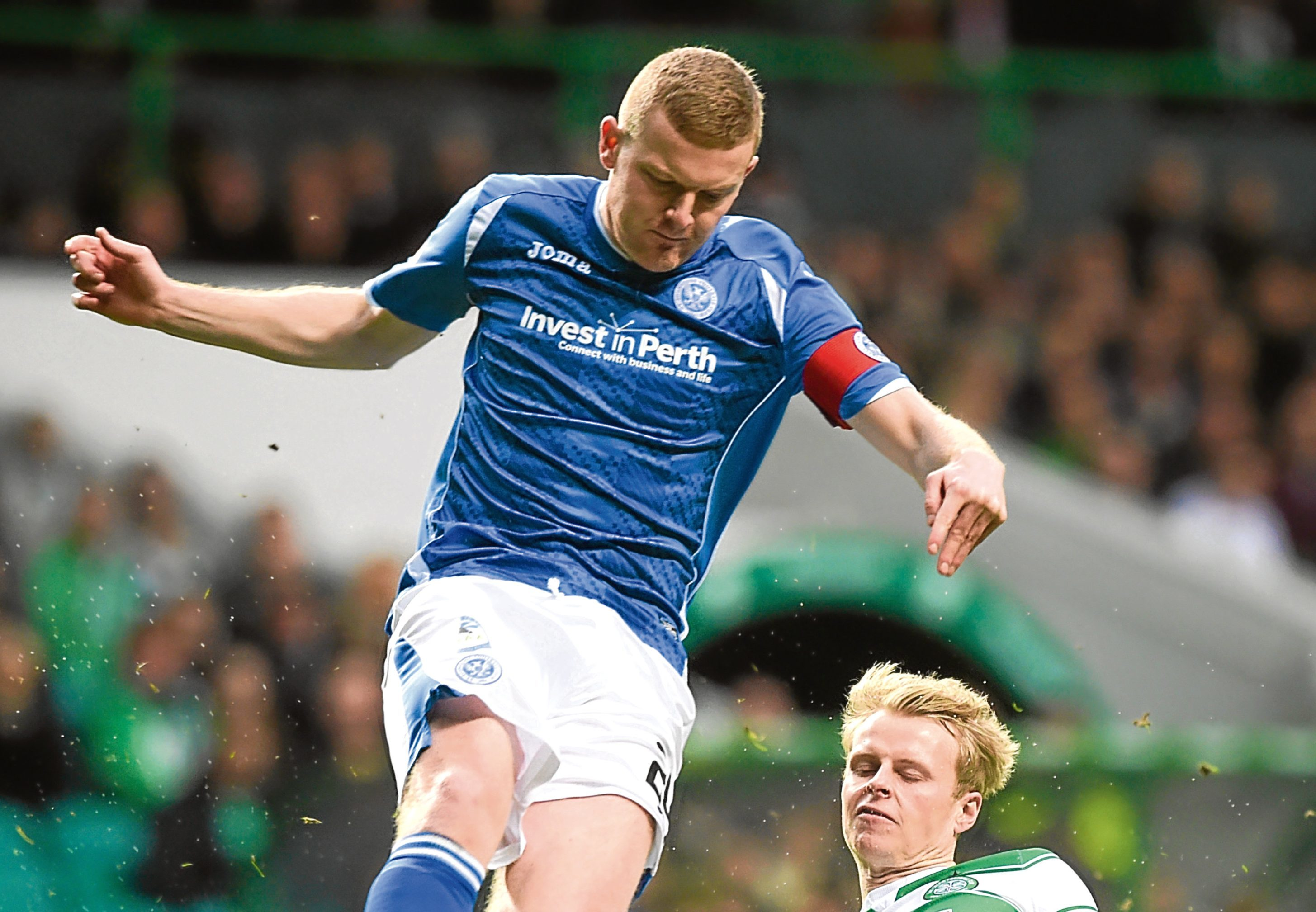 Brian Easton will be stand-in skipper against Celtic if Chris Millar's injury keeps him out of action.