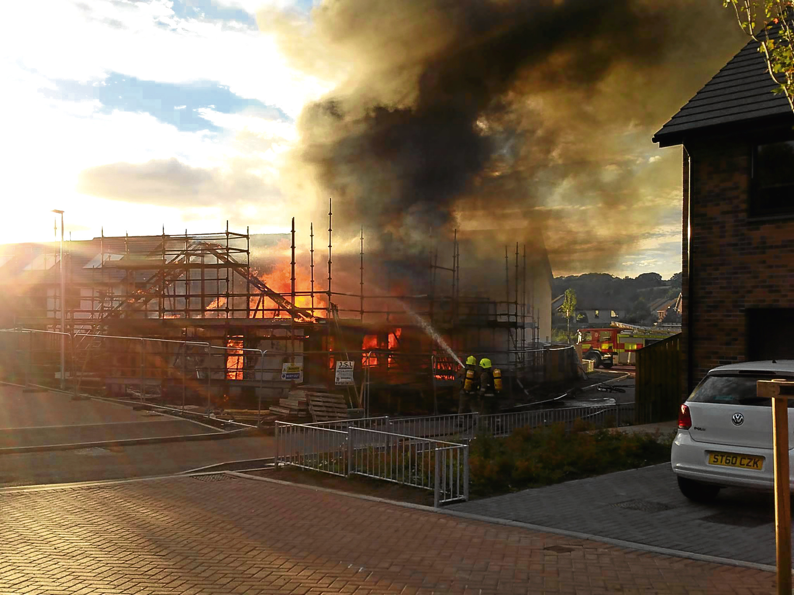 Mill O'Mains fire pic by Alison Duncan