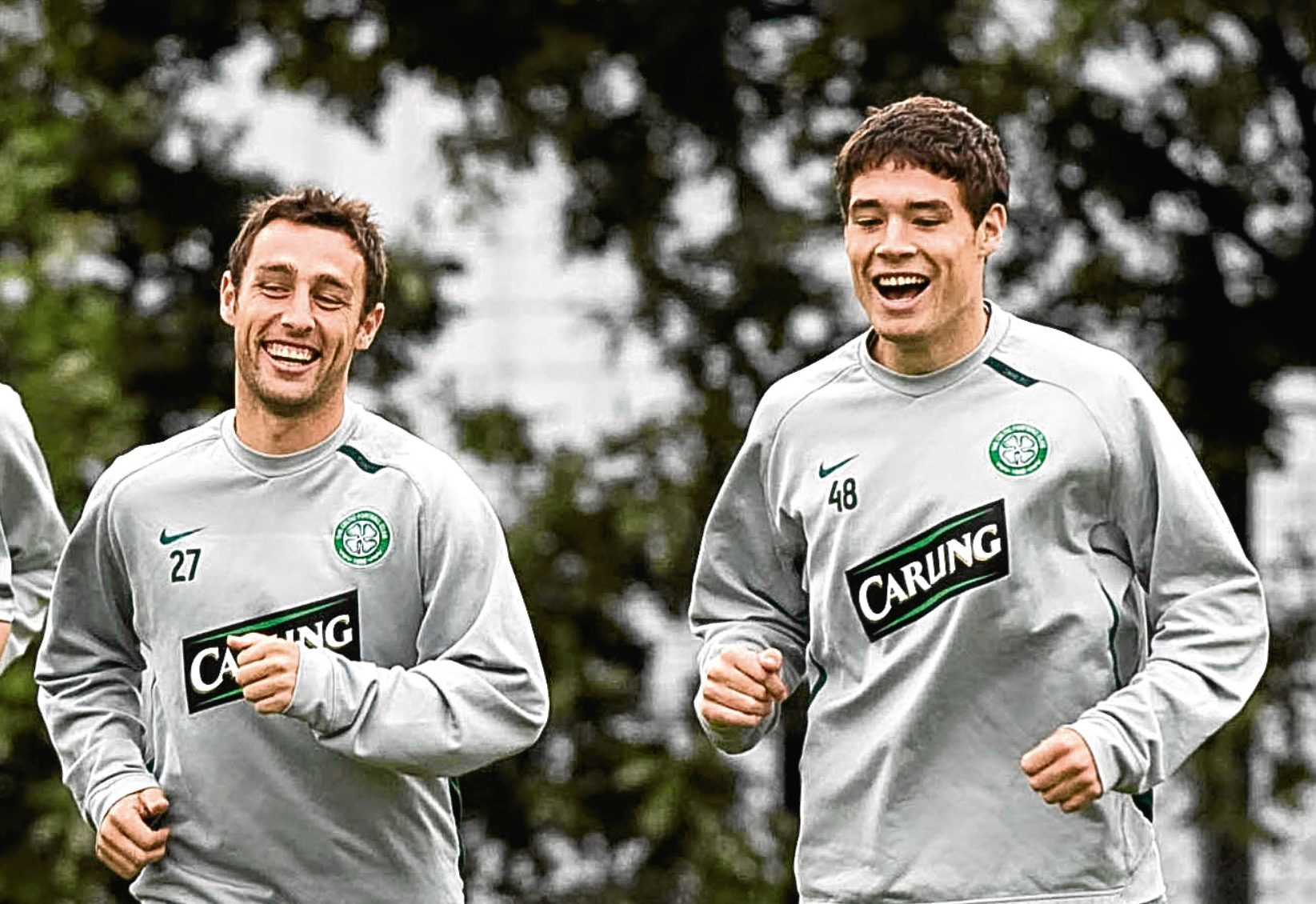 Scott McDonald and Darren O'Dea became friends during their time with Celtic