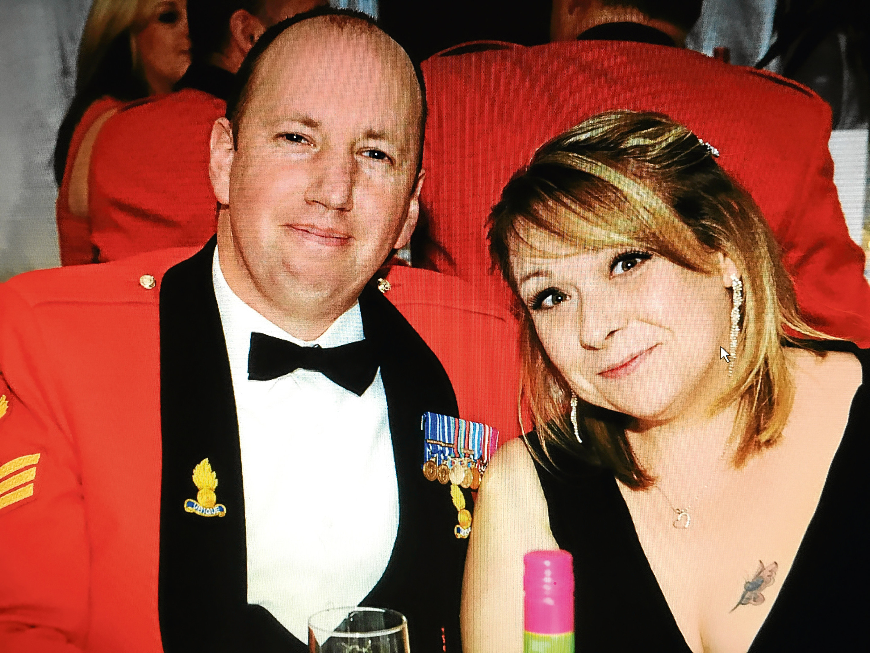 Pete Cluff and his wife Kirsty