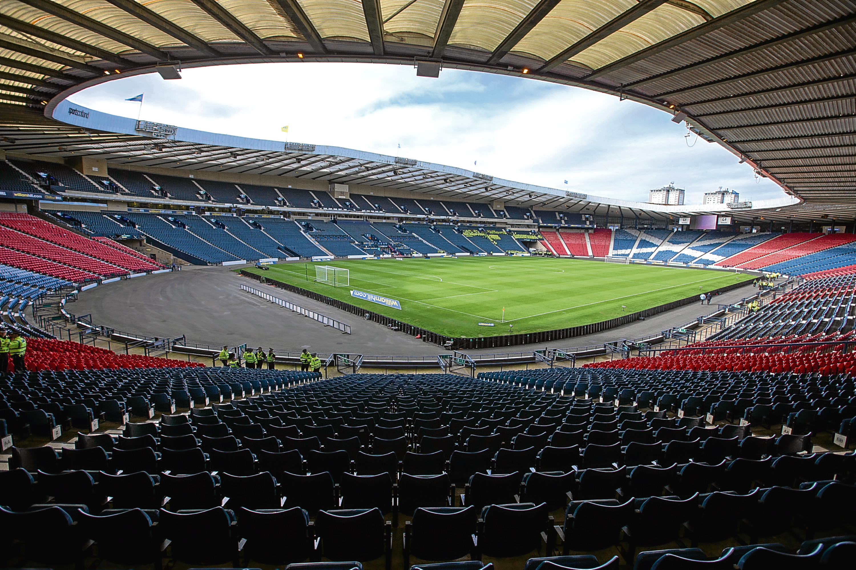 A general view of Hampden Park