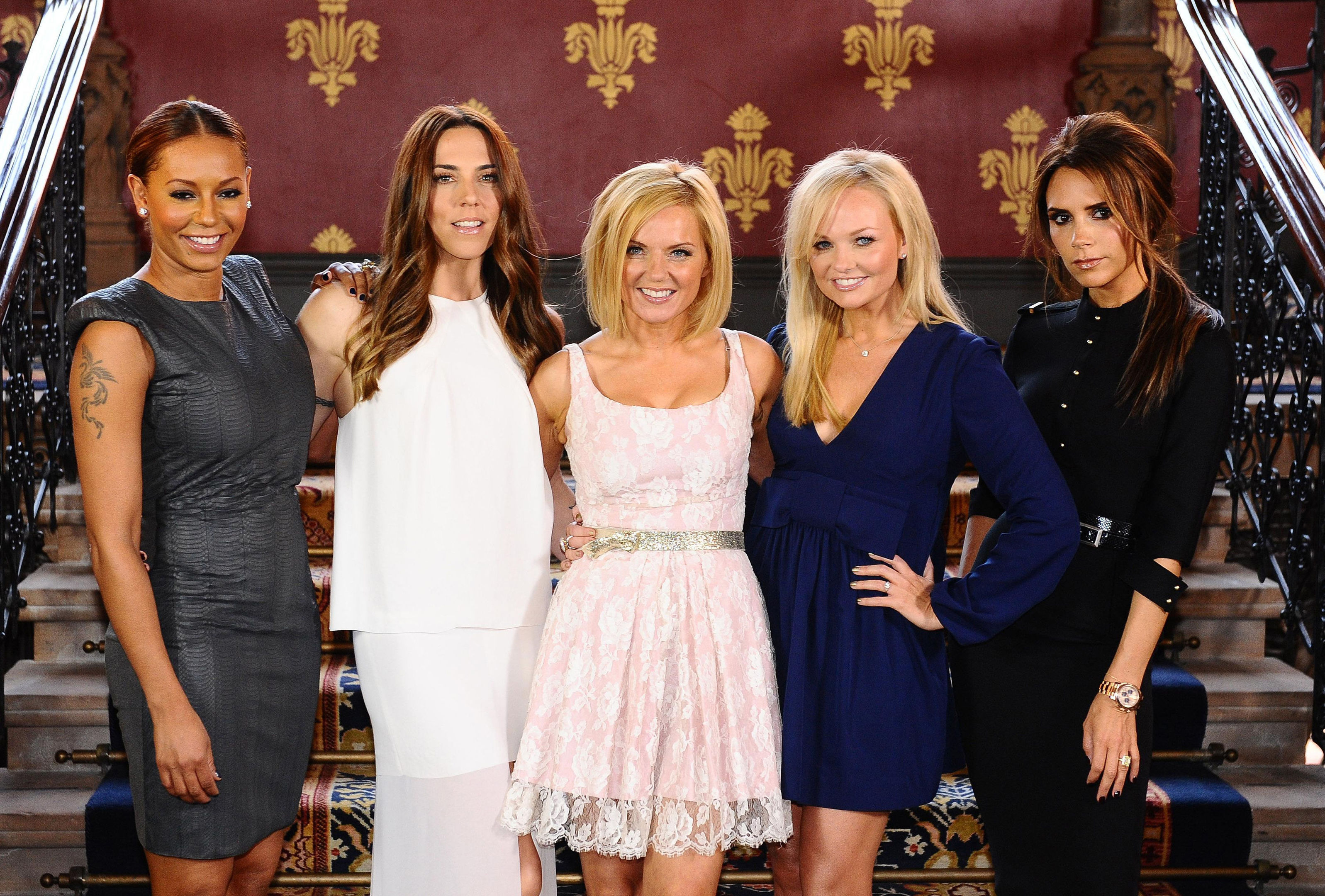 The Spice Girls got together in 2012 for a one-off appearance at the London Olympics