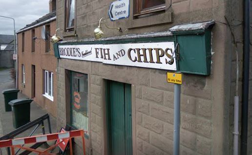 The chip shop. Picture courtesy of Google.