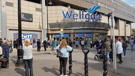 The Wellgate has been evacuated.