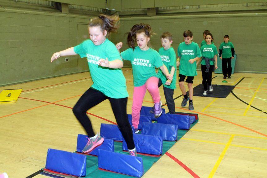 Kids have been participating in both indoor and outdoor activities.