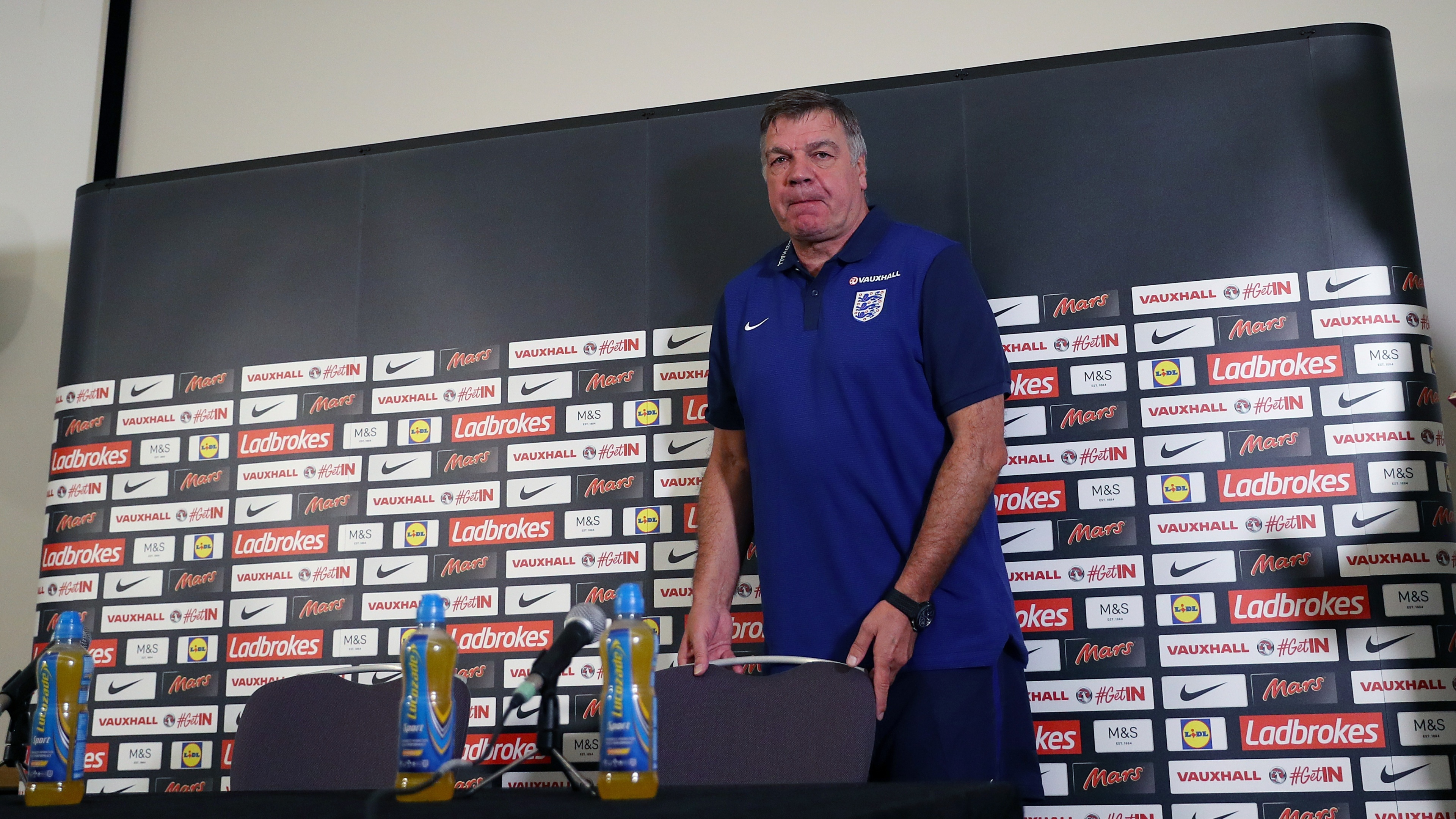 Allardyce was filmed in discussion by undercover reporters.