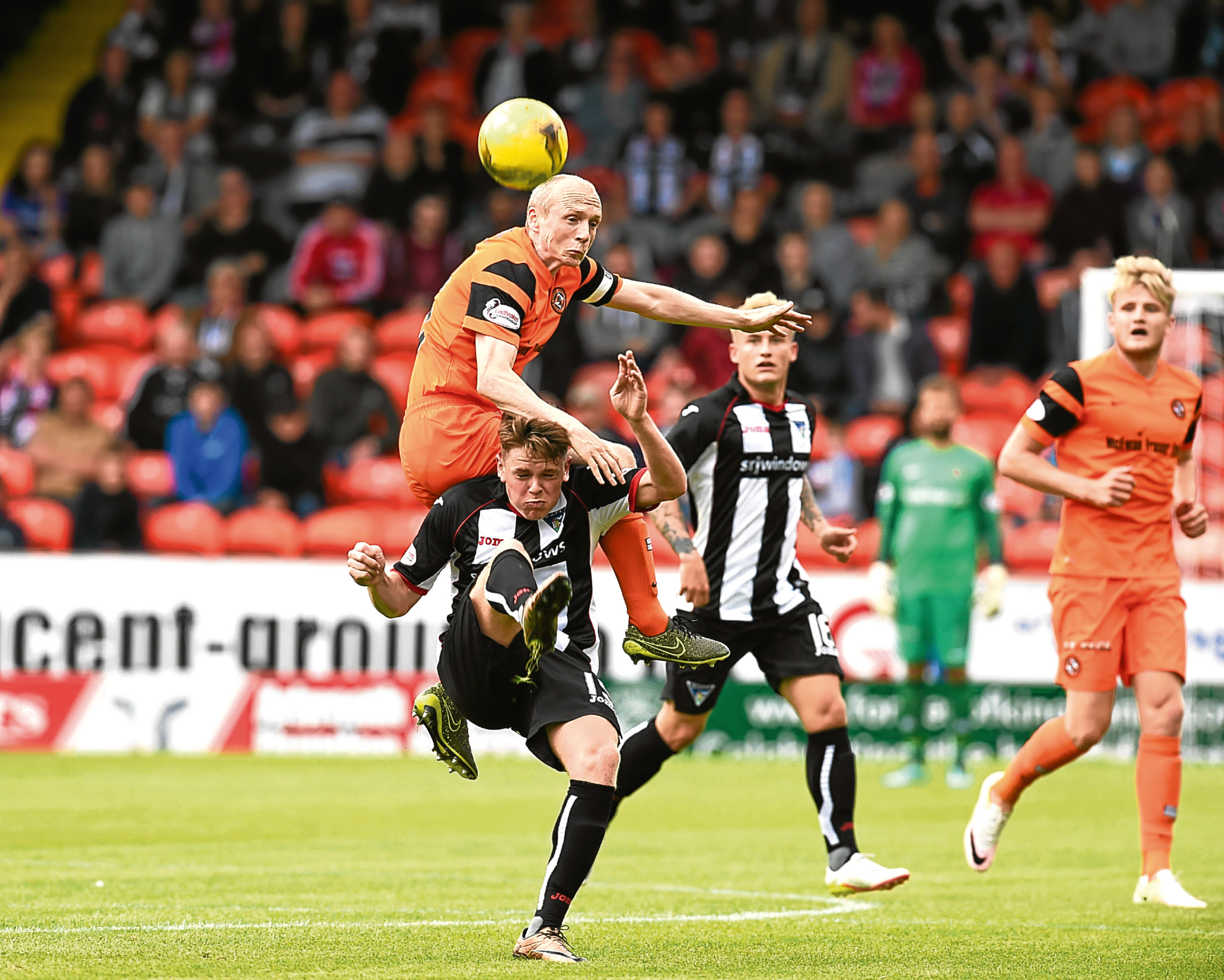 Dundee United midfielder Willo Flood knows his side will have to be at their best on Saturday evening.